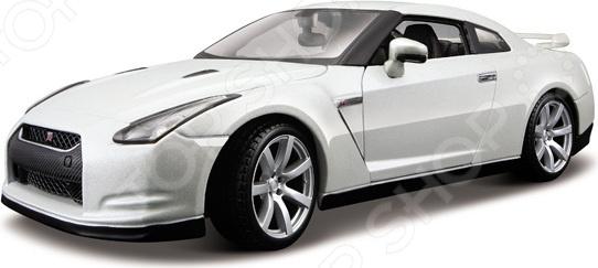 Автомобиль на радиоуправлении 1:12 KidzTech Nissan GT-R с аккумулятором автомобиль на радиоуправлении kidztech bugatti 16 4 grand sport