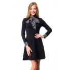 Фото Платье Mondigo 5153. Цвет: черный. Размер одежды: 46