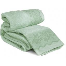 фото Комплект полотенец из махры Tete-a-Tete Т-МП-6468-04. Цвет: зеленый