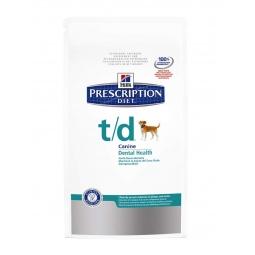 фото Корм сухой диетический для собак Hill's T/D Prescription Diet Canine Dental Health