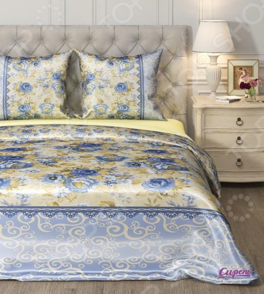 Комплект постельного белья Сирень «Виделия». 1,5-спальный1,5-спальные<br>Комплект постельного белья Сирень Виделия это незаменимый элемент вашей спальни. Человек треть своей жизни проводит в постели, и от ощущений, которые вы испытываете при прикосновении к простыням или наволочкам, многое зависит. Чтобы сон всегда был комфортным, а пробуждение приятным, мы предлагаем вам этот комплект постельного белья. Красивое оформление и высокое качество комплекта гарантируют, что атмосфера вашей спальни наполнится теплотой и уютом, а вы испытаете множество сладких мгновений спокойного сна. Комплект выполнен из комбинированной ткани микрофибра с поверхностью из искусственного шелка. Материал практически не мнется, не требует особого ухода, не линяет и не выцветает. Поверхность ткани гладкая и приятная на ощупь, отличается красивым блеском. Производитель рекомендует ручную стирку, либо в стиральной машине в деликатном режиме при температуре 30 C .<br>