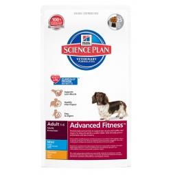 фото Корм сухой для собак мелких пород Hill's Science Plan Advanced Fitness Mini с курицей. Вес упаковки: 7 кг