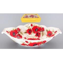 Купить Блюдо для горячего Elan Gallery «Маки»