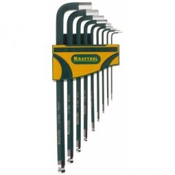 фото Набор ключей имбусовых длинных Kraftool Industrie 27445-H9
