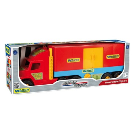 Купить Машинка игрушечная Wader «Фургон» Super Truck