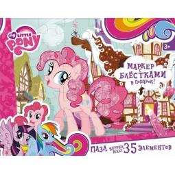фото Пазл 35 элементов Оригами 2109 My Little Pony с маркером