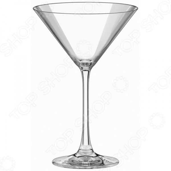 Набор бокалов для мартини Esprado FS30C28E351Бокалы<br>Набор бокалов для мартини Esprado FS30C28E351 это сочетание непревзойденного качества и стильного современного дизайна. Такие бокалы отлично подойдут для сервировки праздничного стола и позволят вам в полной мере насладиться цветом мартини. Изделия изготовлены из высококачественного хрустального стекла, отлично зарекомендовавшего себя в производстве посуды, благодаря своей прочности, блеску и прозрачности. По своим свойствам хрустальное стекло тверже хрусталя, но мягче обычно стекла; частое мытье и натирание абсолютно не вредит изделиям из него, а наоборот усиливает их блеск. Бокалы имеют закаленные края, что защищает их от царапин и сколов. В наборе шесть бокалов; объем каждого 280 мл.<br>