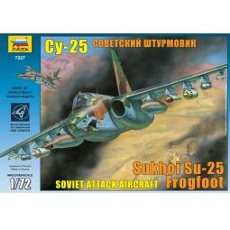 """фото Сборная модель Звезда Самолет """"Су-25"""""""