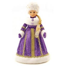 фото Игрушка музыкальная Новогодняя сказка 972119 «Снегурочка»