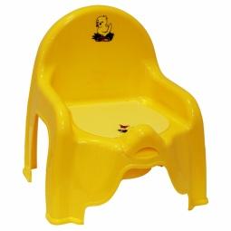 фото Горшок-стульчик IDEA М 2596. Цвет: желтый