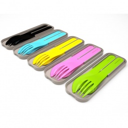 Купить Набор столовых приборов в футляре Monbento MB Pocket color