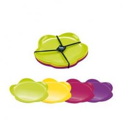 Купить Набор тарелок десертных Zak!designs Flora