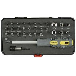 фото Отвертка с битами и торцевыми головками Stayer Max-Grip 25927-H32 G