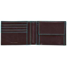 фото Портмоне Piquadro Blue Square PU257B2. Цвет: красный, коричневый