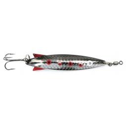 фото Блесна колеблющаяся Atemi Salmon. Длина: 77 мм. Цвет: черный, серебристый
