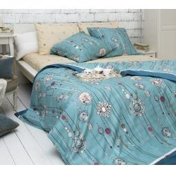 фото Комплект постельного белья Tiffany's Secret «Секрет Тиффани». Семейный. Размер наволочки: 70х70 см — 2 шт, 50х70 см — 2 шт