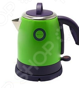 Чайник Великие реки Чая-1АЧайники электрические<br>Чайник Великие реки Чая-1А станет отличным дополнением к набору вашей мелкой бытовой техники для кухни. Электрический чайник это прекрасная альтернатива обычному. Среди явных преимуществ можно отметить безопасность использования и значительную экономию времени; вода в таких чайниках закипает за считанные минуты. Корпус чайника выполнен из высококачественной нержавеющей стали. Модель снабжена широкой горловиной, съемной ручкой и эргономичной ручкой.<br>