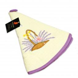 фото Полотенце кухонное Mariposa Basket. Цвет: белый