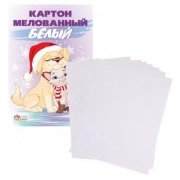 фото Набор картона белого Бриз 1126-111