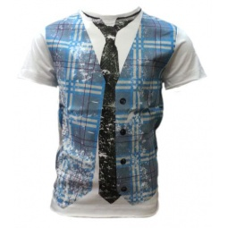 фото Футболка Warrior Poet Faux Plaid SS T-Shirt. Рост: 104-110 см
