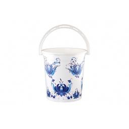 Купить Ведро круглое Violet 0112БК «Гжель»