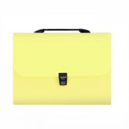фото Папка-портфель Silwerhof Transnebel 322812. Цвет: желтый