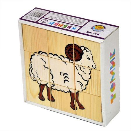 Купить Кубики Томик 4444-3