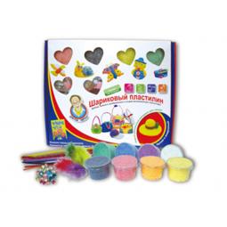фото Набор пластилина шариковый с декоративными элементами из 8 цветов Доктор Чарли