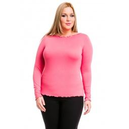 фото Кофта Mondigo XL 1470. Цвет: коралловый. Размер одежды: 48