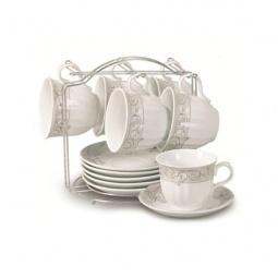 фото Чайный набор на подставке Grazie «Нежный бутон»