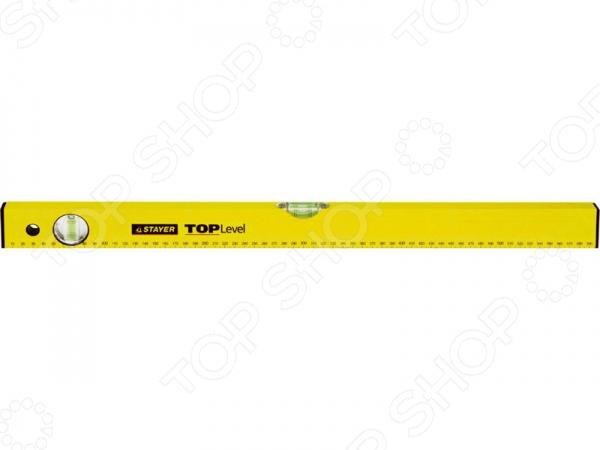Уровень Stayer Master TOPLevel 3460_z02Уровни<br>Уровень Stayer Master TOPLevel 3460 z02 строительный инструмент с помощью которого можно обнаружить отклонение поверхности от горизонтали или вертикали. Инструмент выполнен из высококачественных материалов на высокоточном оборудовании, что позволяет значительно продлить срок эксплуатации изделия. Модель имеет 2 противоударных ампулы.<br>