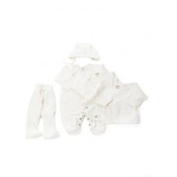 фото Комплект подарочный для новорожденных Ёмаё. Цвет: молочный. Рост: 50-56 см