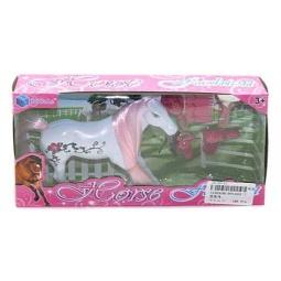 фото Набор игровой для девочки Shantou Gepai «Лошадка с аксессуарами» BYL002-7