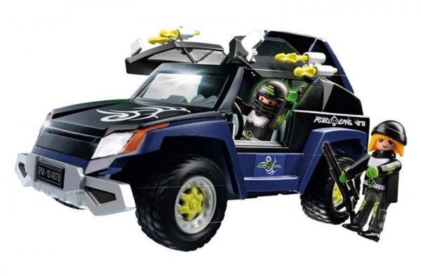 фото Секретный агент:Внедорожник Роботов-бандитов Playmobil 4878 4878pm, Другие виды конструкторов