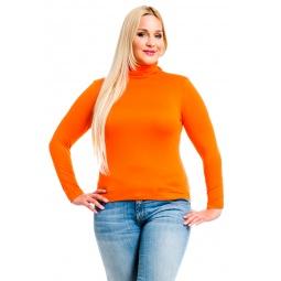 фото Водолазка Mondigo XL 046. Цвет: оранжевый. Размер одежды: 48