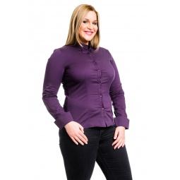 фото Рубашка Mondigo XL 9604. Цвет: баклажановый. Размер одежды: 48