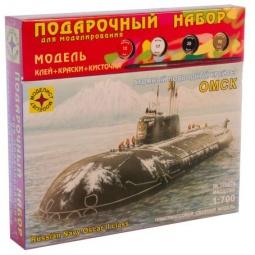 Купить Сборная модель подводной лодки Моделист «Атомный крейсер Омск»