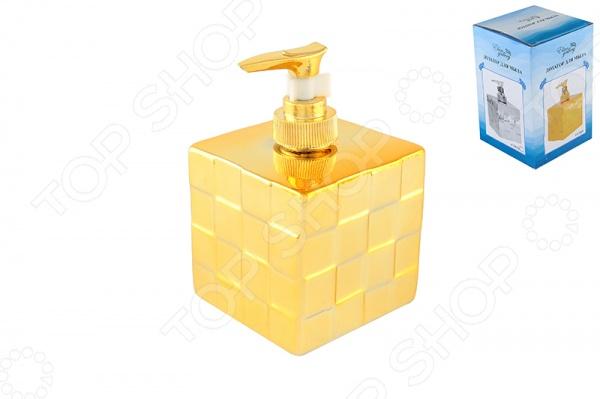 Диспенсер для мыла Elan Gallery Квадрат станет оригинальным украшением интерьера вашей ванной комнаты или кухни, дополнив его удобством, практичностью и функциональностью. Все, что вам необходимо сделать наполнить жидким мылом емкость и начинать пользоваться диспенсером. Приятный глазу дизайн и цвет изделия без труда впишутся в окружающую обстановку, положительно влияя на ваше настроение каждый раз, когда вы будете им пользоваться. Керамический корпус выполнен из качественного материала, который надолго сохранит свой первоначальный вид. Стильный и оригинальный дизайн в форме котика делает диспенсер хорошим подарком для ваших близких.
