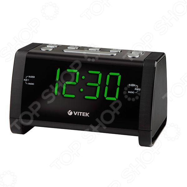 Радиочасы Vitek VT-6608