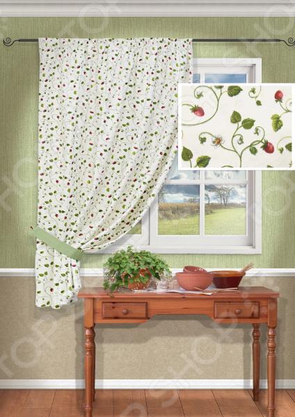 Штора Kauffort FresitasШторы<br>Окно в комнате может считаться её символическим центром, поэтому так важно выбрать подходящее для него художественное оформление, которое бы гармонично вписывалось в выбранный вами стиль интерьера. Правильно подобранные шторы способны преобразить вашу комнату, сделать её более светлой или уединенной, яркой или более спокойной, визуально больше или уютней. Красивый текстиль для уютного дома! Штора Kauffort Fresitas это идеальный вариант для вашей кухни, дачи или столовой комнаты. Прочное, плотное и качественное изделие не только стильно оформит оконное пространство, но и позволит правильно расставить акценты в интерьере, скрыть небольшие недостатки в отделке. Особенность данной модели заключается в нежном цветочном дизайне и идеально подобранной цветовой гамме. Такая штора одинаково понравится ценителям классики и тем, кто следит за модными тенденциями. Качество залог долговечности и практичности! Штора выполнена из качественного и прочного материала сочетания хлопка и полиэстера. Эта ткань обладает рядом преимуществ, которые делают эту скатерть великолепным приобретением для вашего дома:  высокий уровень гигроскопичности позволяет изделию быстро впитывать влагу и также быстро сохнуть;  не требует особого ухода и подходит для использования в стиральной машине;  принт нанесенный на полотно надолго сохраняет свои первоначальные цвета и насыщенность;  штора не выцветает и не теряет форму после многократных стирок;  прекрасно пропускает свет;  формирует мягкие складки без заломов. Изделие крепится с помощью специальной шторной ленты. Штора оформлена подхватом шириной 8 см.<br>