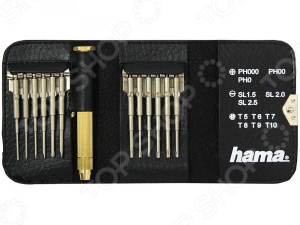 Набор мини-отверток Hama H-53052