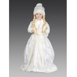 фото Кукла под елку Holiday Classics «Снегурочка. Морозные узоры» 1709387