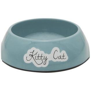 Купить Миска для кошек нескользящая Beeztees Rounded. Kitty Cat
