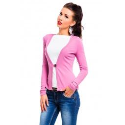 фото Жакет Mondigo 426. Цвет: темно-розовый. Размер одежды: 44