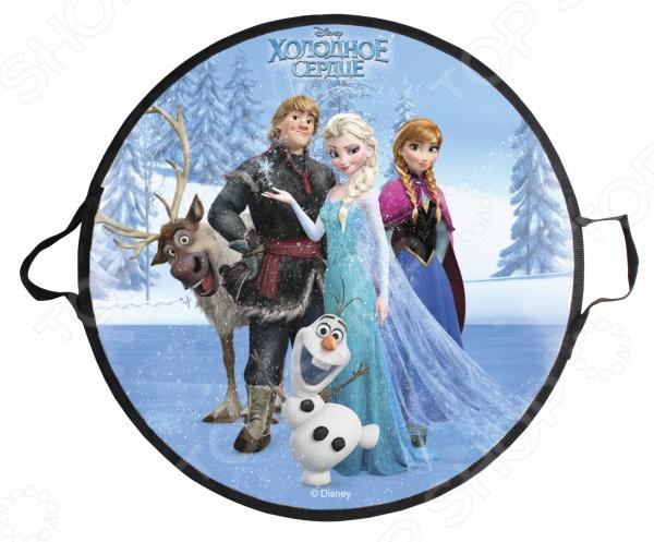 Ледянка Disney «Холодное Сердце» john ледянка с 2 мя ручками холодное сердце 85 х 52 см с 3 лет
