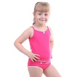 фото Комплект нижнего белья для девочки Свитанак 206585. Рост: 110 см. Размер: 30