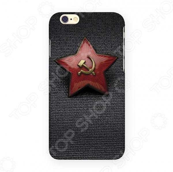 цены на Чехол для iPhone 6 Mitya Veselkov «Звездочка СССР» в интернет-магазинах