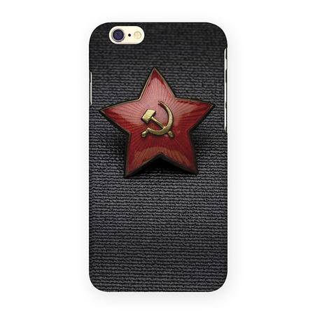 Чехол для iPhone 6 Mitya Veselkov «Звездочка СССР»