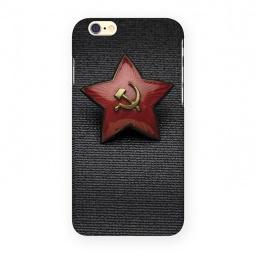 фото Чехол для iPhone 6 Mitya Veselkov «Звездочка СССР»