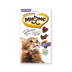 фото Лакомство для кошек Мнямс 700453 «Мясное ассорти»